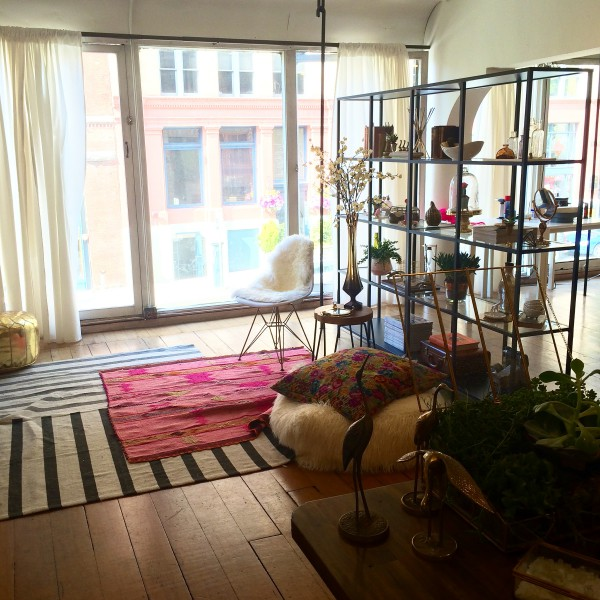 Fresh Tangerine's cute Pioneer Square studio!
